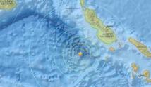 Fort séisme au large de Tonga