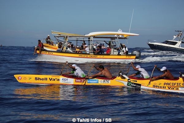Shell Va'a est revenue à la 2e place, la dernière étape sera décisive.