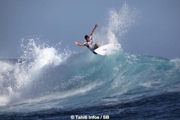 Teiki Charles accède pour la 1ère fois à la finale du Taapuna Master.