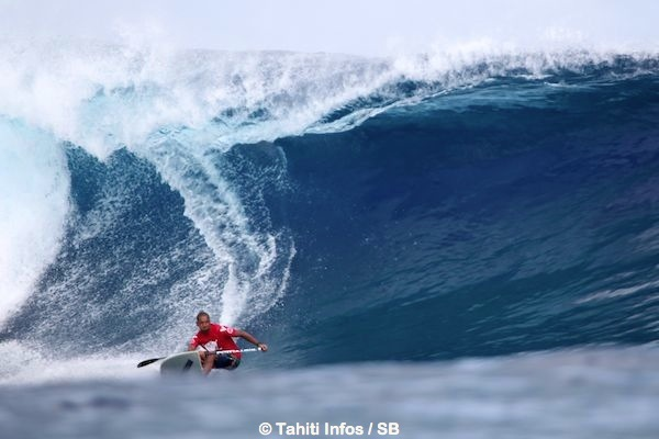 C'est le premier séjour à Tahiti pour Daniel Kereopa