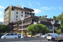 Le siège de l'OPT à Papeete.
