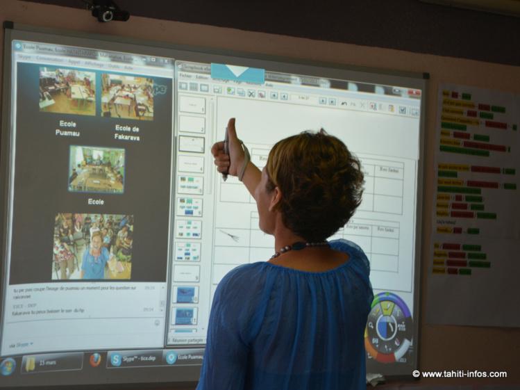 Des tests de télé-enseignement de la DEP en 2013