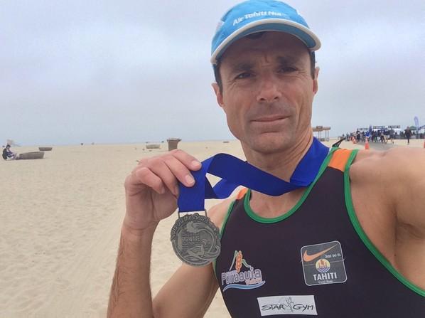 Aquathlon « Hurlington Beach » : Frédéric Tête vainqueur aux States