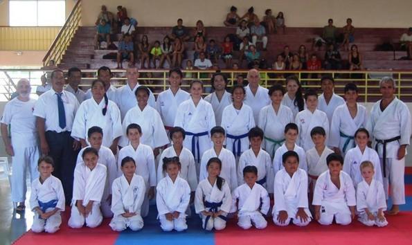 Karaté : Le club Shimizu en tête de liste