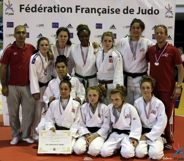 Judo : Rauhiti Vernaudon Vice championne de France par équipe