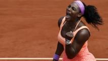Roland-Garros - Serena Williams sacrée pour la troisième fois