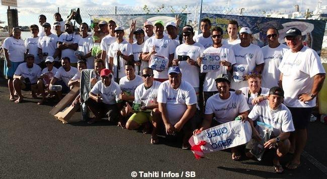 Pêche sous marine – Championnat de Polynésie : C'est dans les vagues que Vaihoarii Taeatua a 'fait mouche'.