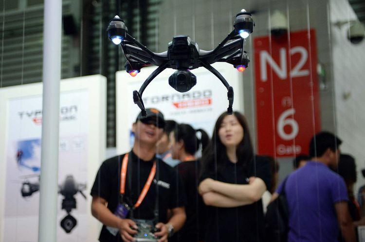 Le drone, dernière arme anti-triche au bac en Chine