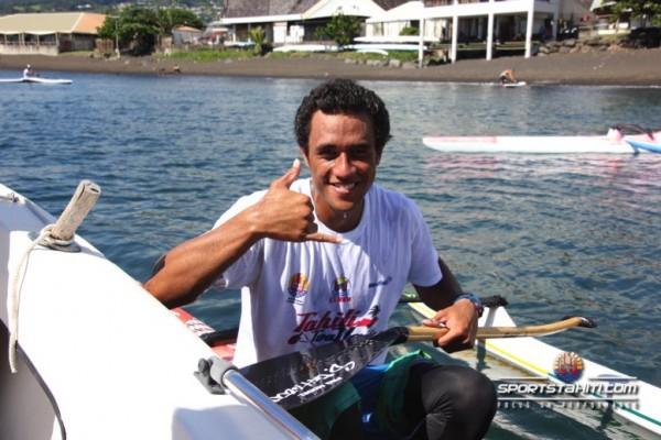 Va'a V1 : Kévin Kouider remporte la Tahiti Toa Va'a