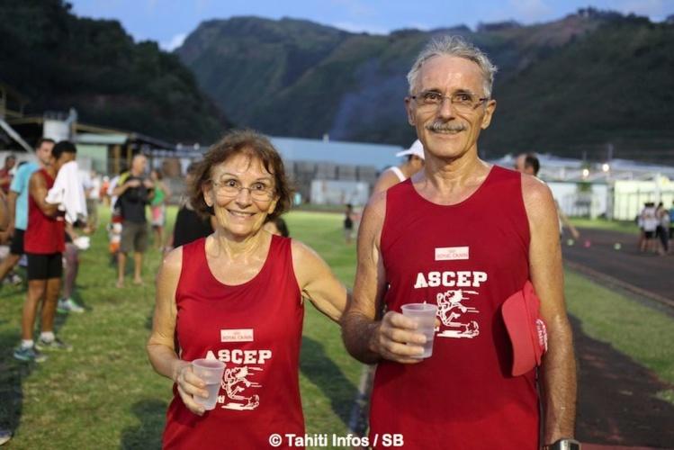 Le couple emblématique organisateur, Mr et Mme Ramon.