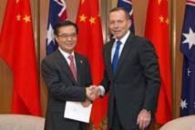 Chine et Australie signent un accord de libre-échange après dix ans de négociations