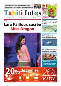 TAHITI INFOS N°433 du 15 juin 2015