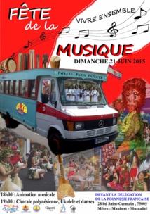 Les Polynésiens de Paris organisent aussi leur fête de la musique