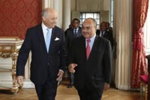 Le Premier Ministre papou à Paris