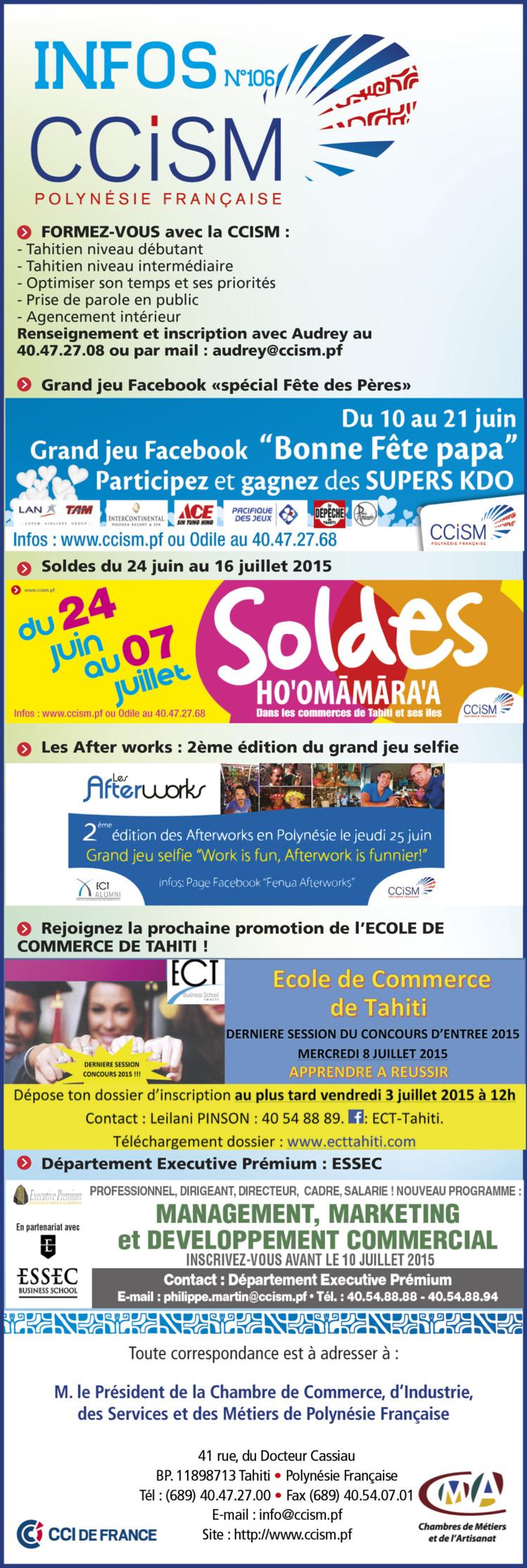 Infos CCISM n°106