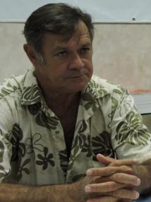 - Stanley Ellacott, président de la Fédération d'entraide polynésienne de sauvetage en mer