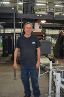 Hugues Lemaître directeur de production de Pacific Press