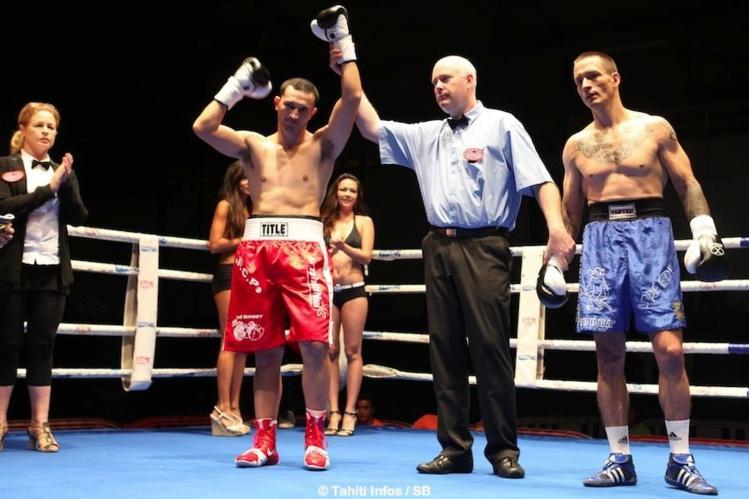 Cédric Bellais, le nouveau champion intercontinental WBF en catégorie mi lourd.