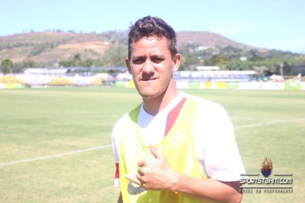 Tevairoa Triturateur de Moorea a marqué 4 buts