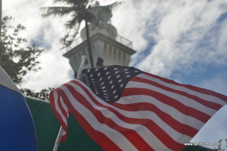 Mahina était aux couleurs de l'Amérique, samedi 4 juillet pour célébrer le 4th of july