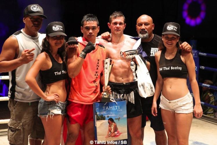 Une belle soirée de boxe thai proposée par l'as Tini Thai Boxing