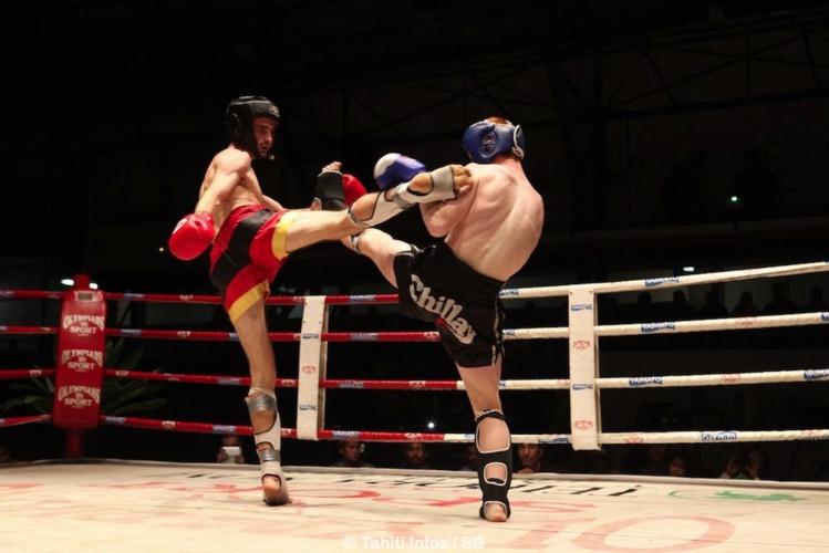 Benjamin Desnos a également remporté son combat contre le Néozélandais Jake Maccowat