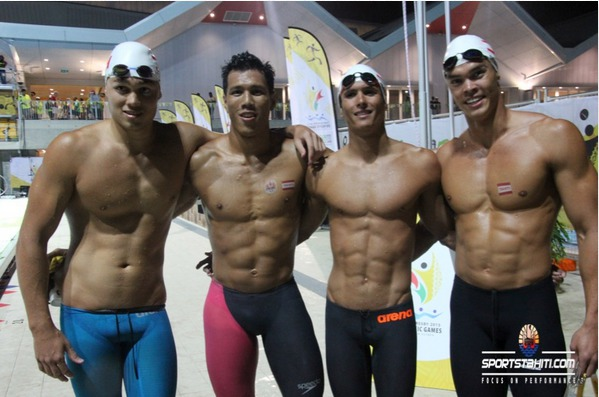 PNG 2015 « Natation – Day 1″ : Tahiti en force