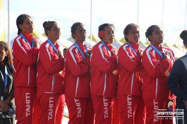 PNG 2015 « Va'a – Day 1″ : Quatre médailles d'or pour Tahiti