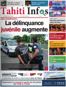 TAHITI INFOS N°444 du 3 juillet 2014