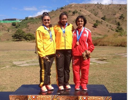 PNG 2015 « Tir au pistolet » : Du bronze pour Maeva Darius sur 25m