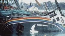 Le 10 juillet 1985 à Auckland, des agents français coulent le Rainbow Warrior