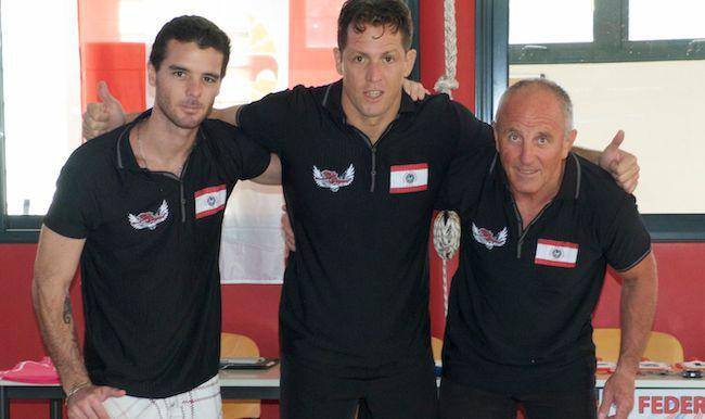 Yannick Hartmann, David Proia et Daniel Ray.