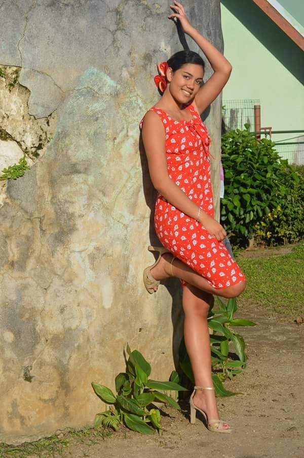Candidate N°2: Mataoa Lahaina 16 ans