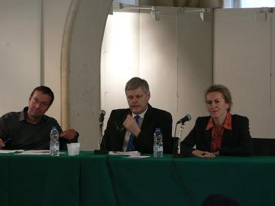 Jacques Merot est au milieu de la photo. Elle date de 2011, quand M. Merot a été élu président du Syndicat des juridictions financières