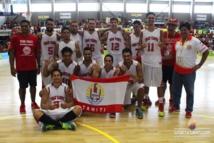 PNG 2015 « Basket » : Le bronze aussi pour les hommes