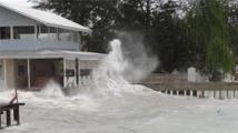 Le cyclone Raquel a fait au moins une victime et 8 disparus
