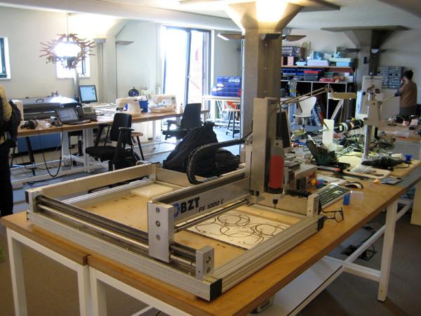 Un Fab Lab à Amsterdam, au Waag Society
