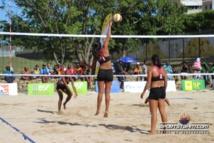 PNG 2015  » Beach Volley  » : Entrée en matière victorieuse pour les tahitiens