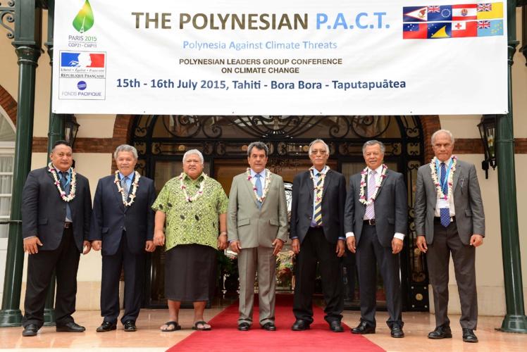 Ouverture de la conférence du PLG sur le thème des changements climatiques