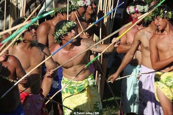 Le lancer de javelot est un des sports traditionnels emblématiques