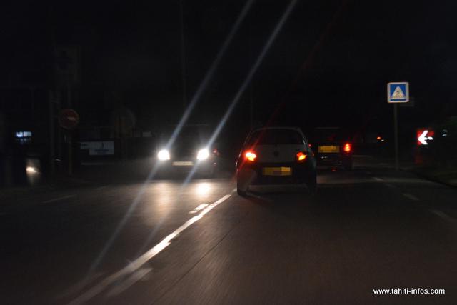 Blackout à Papara, la population n'en peut plus