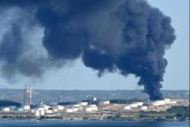 Explosions à Berre: des niveaux significatifs d'hydrocarbures dans l'air 4 jours après.
