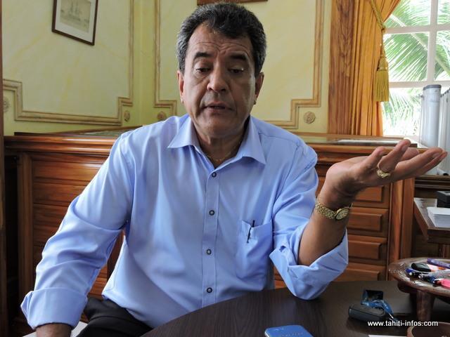 Fatigué de ces agissements, le Président Fritch est triste pour la Fédération de Pirae.