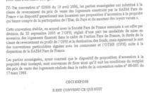 """Extrait du préambule de la convention de 2011 où le dispositif d'accès à la propriété de 2006 est jugé """"inadapté"""""""