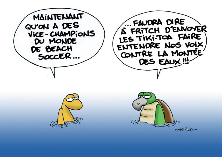 """""""La montée des eaux"""" vu par Munoz"""