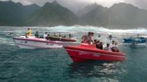 Teahupoo : quand LA vague est au rendez-vous, la foule est là