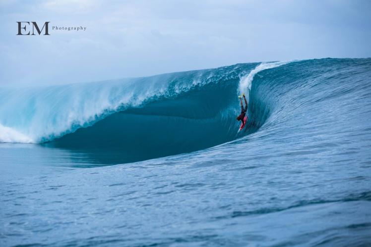 Alvino Tupuai en 'late take off'