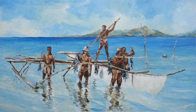 Gilbert Chaussoy, une vie d'artiste entre terre et mer