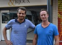 Julien Kinde et son associé Nicolas Demeyer