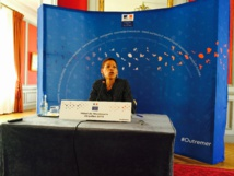 La ministre des Outre-mer présidait mercredi à Paris la dernière séance du Conseil de promotion du tourisme, consacrée aux destinations d'Outre-mer.
